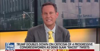 Fox Hosts Split On Trump's Racism