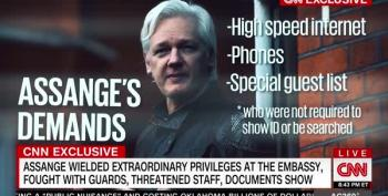 CNN: Assange Ran Election Interference From Ecuadorian Embassy