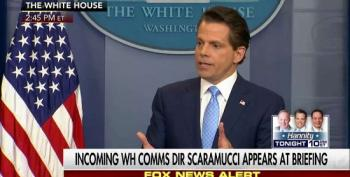 Anthony Scaramucci:  Trump Could Be 'Turning Into' A Racist