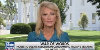 Kellyanne Flaunts Her Racism: Freshmen Trump Attacked Are 'Dark Underbelly Of America'
