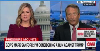 Mark Sanford 'Considering' Primary Challenge To Trump