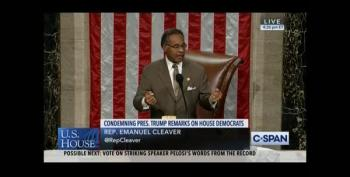 Rep. Rev. Emanuel Cleaver, Acting As Speaker Of The House, Abandons The Chair