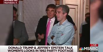 Archived NBC Video Shows Trump Partying With Man He 'Never Liked'