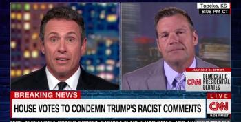 Kris Kobach Admits He Might Support Trump If He Said He Was A Racist