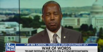 Ben Carson Can't Justify Trump's Racism
