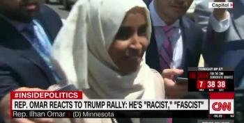 Ilhan Omar Rightly Calls Trump A Fascist