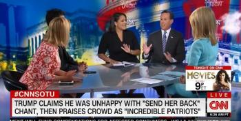 Rick Santorum Hammered By CNN Panel For Ridiculous Defense Of Trump's Racism