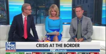 Fox & Friends Mad That Media 'Focused' On 'Send Her Back' Chant