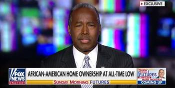 Ben Carson Admits That Black Homeownership Is At An All-Time Low
