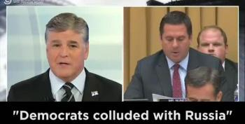 MUST WATCH: Devin Nunes Copies Sean Hannity, Word-for-Word, At Mueller Hearing