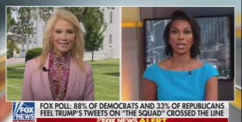 Kellyanne Conway Clams Up When Asked About Hatch Act Violations