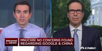 Steve Mnuchin Admits Amazon Deserves Antitrust Scrutiny