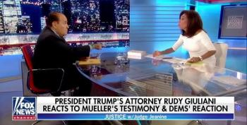 Pirro And Giuliani Accuse Mueller Of Being 'A Shill' For The 'Deep State'
