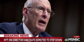 Dan Coats Will Step Down As Director Of National Intelligence
