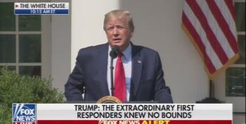 Trump Pretends He Was With First Responders At Ground Zero