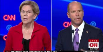 Elizabeth Warren Smacks Down John Delaney