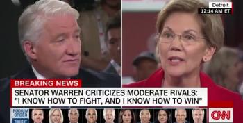 Warren Lays Out Her Vision, Refuses To Attack Other Dems