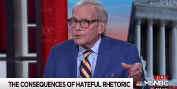 Tom Brokaw's Job Is To 'Both Sides' Mass Shootings