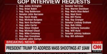 Cowardly GOP/NRA Lawmakers Refuse To Appear On CNN