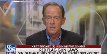 Sen Toomey Won't Talk Banning Guns Because 'They're Popular'