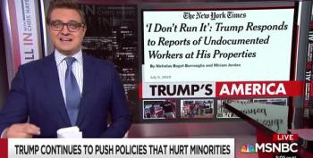 MUST WATCH: Chris Hayes Is Electric In Rant Against Trump
