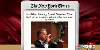 Joe Biden Calls For Assault Weapons Ban In Times Op-Ed