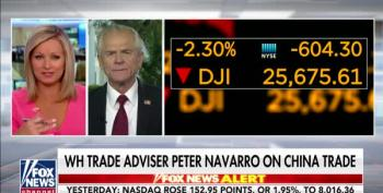 Peter Navarro Blames The Fed For Stock Losses