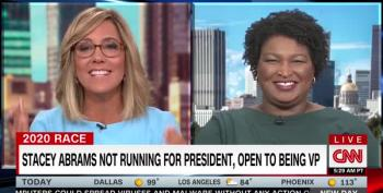 Stacey Abrams Talks About Her Plans To Fight Voter Suppression