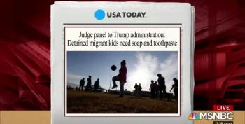 MSNBC Legal Analyst: Court Says Migrant Kids MUST Have Toothbrushes & Soap