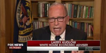 Larry Kudlow Slurs His Words During Appearance On Fox News Sunday