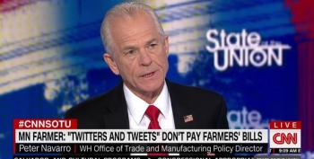 Peter Navarro Insists Trump's Trade War With China Isn't Hurting Anyone In The United States