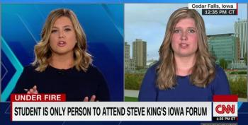 Meet The Only Person Who Wasn't Paid To Attend Steve King's Town Hall