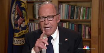 Larry Kudlow Pushes 'Optimism' Fairy To Defend Trump's Chaotic Economy