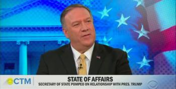 Mike Pompeo Denies Being 'A Heat-Seeking Missile For Trump's Ass'