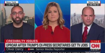 Stelter: Outlets Hiring Sanders And Spicer Deserve 'Outrage And Backlash'
