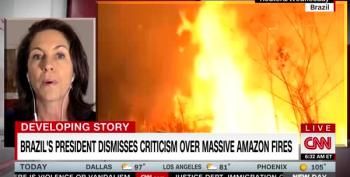 Amazon Fire Is Out Of Control As More Land Burns