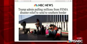 With Hurricanes Looming, Trump Moves Millions In FEMA Funding To Border