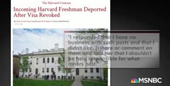 Harvard Student Denied Entry Into US In 'Trump's America'