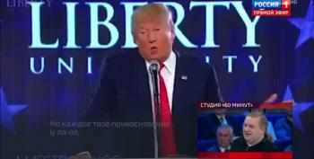 Russian State TV Mocks, Emasculates Donald Trump