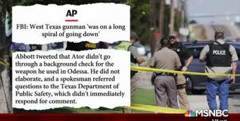 Odessa Gunman Failed A Background Check, Was In 'Downward Spiral'