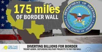 Pentagon Defunds 127 Projects To Pay For Trump's Border Wall