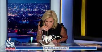 Laura Ingraham Drinks Steak?