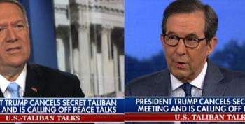 Chris Wallace: 'Who Thought It Was A Good Idea For' Trump 'To Meet With Taliban' On Anniversary Of 9/11?