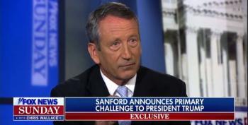 Mark Sanford Announces Primary Challenge To Trump For 2020 Republican Nomination