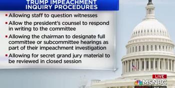 House Judiciary Committee Set To Vote On Impeachment Inquiry