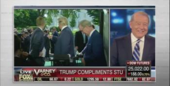 John Oliver Hammers Stuart Varney's Trump Crush
