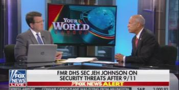 Neil Cavuto Talks Terrorist Threats With Jeh Johnson