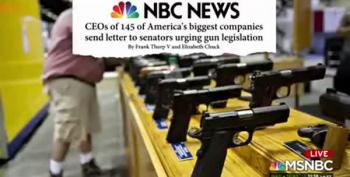 CEOs Demand Action On Gun Legislation