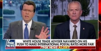 Navarro Pushes Fox's Cavuto To Support Trump On International Postage