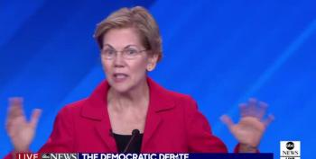 Elizabeth Warren: 'I'm The Only One On This Stage Who Has Taught Public School""